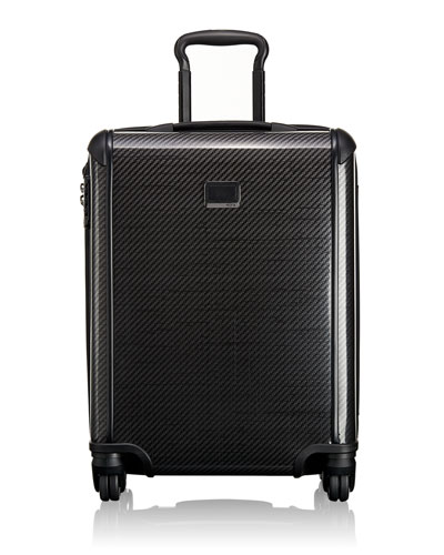Tegra-Lite Black Graphite Continental Carry-On