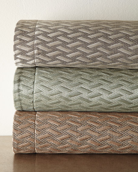 Dian Austin Couture Home King Le Plaza Woven-Pattern