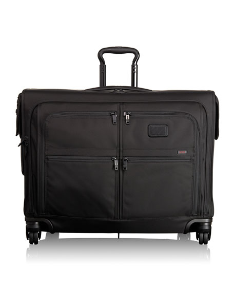 Alpha 2 Black 4-Wheeled Medium-Trip Garment Bag