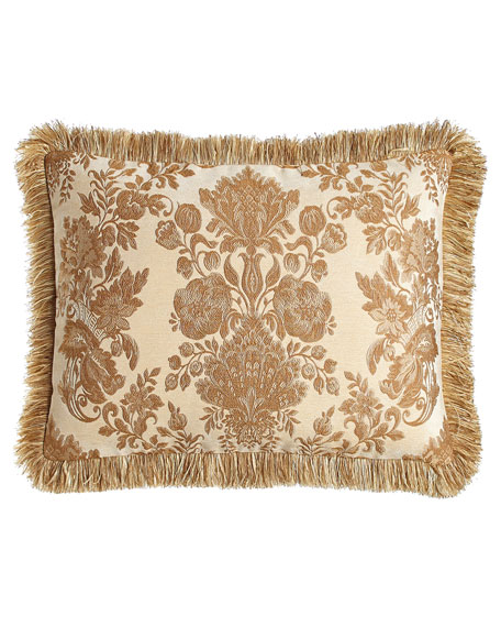 Sweet Dreams Standard Bellissima Sham with Brush Fringe