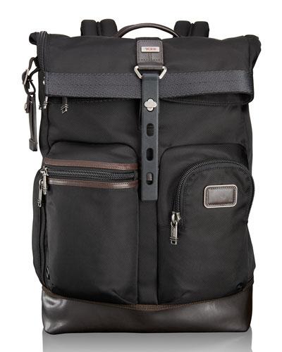 Alpha Bravo Hickory Luke Roll-Top Backpack Tote