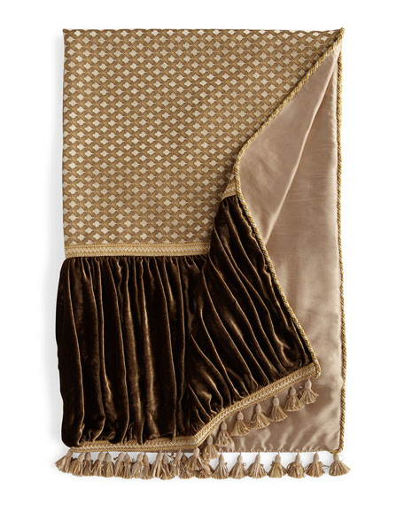 Dian Austin Couture Home Pieced Gatsby Throw with