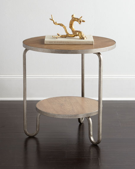 Shelby Round End Table