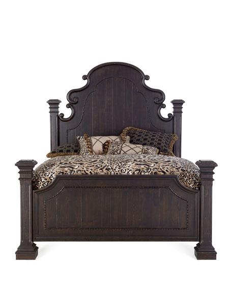 Royce Queen Poster Bed
