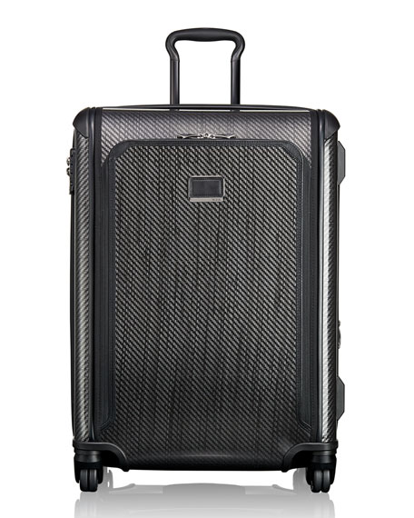Tegra-Lite Max Black Graphite Medium-Trip Expandable Packing Case Luggage