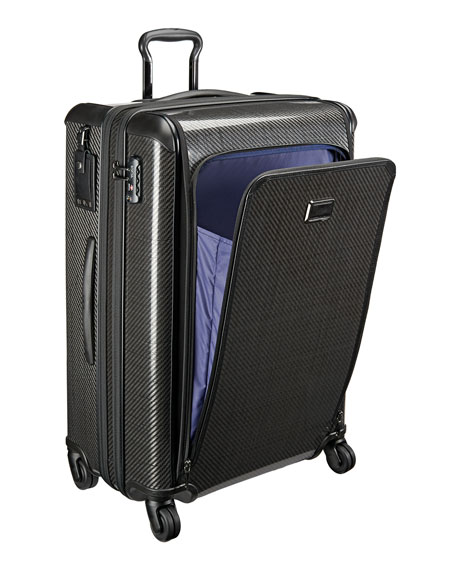 Tegra-Lite Max Black Graphite Large-Trip Expandable Packing Case Luggage