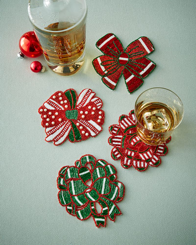 Bow Coasters, Set of 4