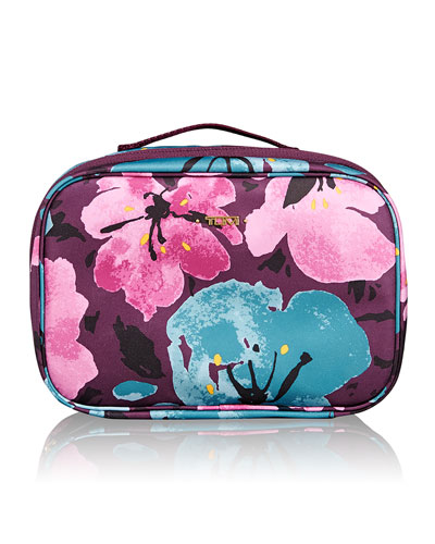 Voyageur Lima Floral-Print Travel Toiletry Kit