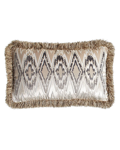 Fringed Castile Pillow, 16