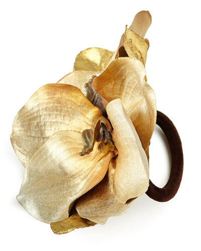 Luxe Orchid Napkin Ring