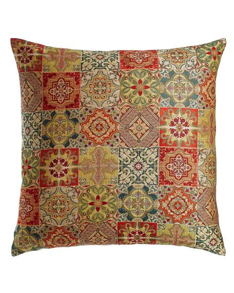 Fino Lino Linen & Lace European Tegola Tile