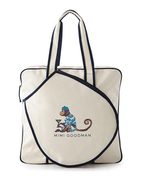 Tennis Bag - Cocktail Monkey