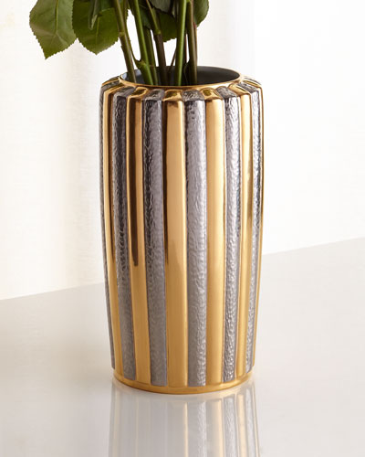 Voyage d'Or Large Vase