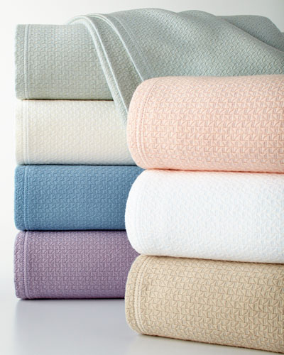 Full/Queen Basket Weave Blanket