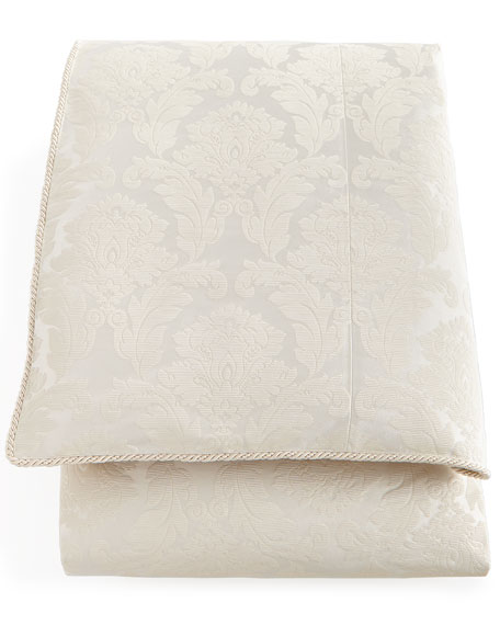 Queen Capello Damask Duvet Cover