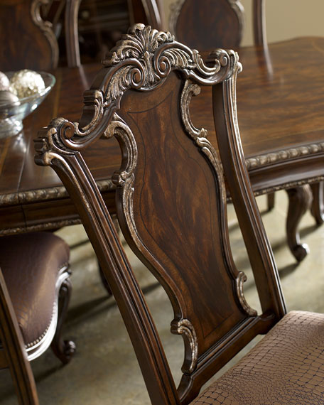 Maxwell Wood-Back Side Chairs, Pair