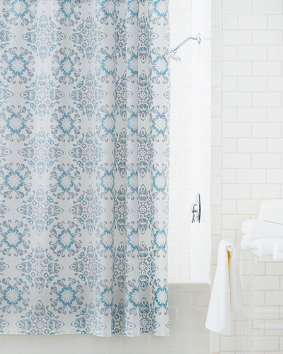 Gazing Medallion Shower Curtain