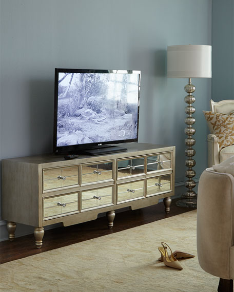 Mara Mirrored Entertainment Console