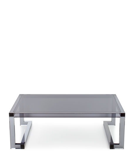 Constance Noire Acrylic Coffee Table