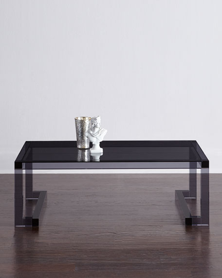 Interlude Home Constance Noire Acrylic Coffee Table