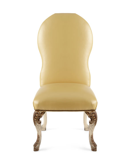 Devine Leather Side Chair
