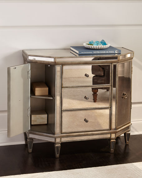 Reiley Mirrored Cabinet
