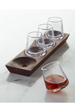Simon Pearce Ludlow Cordial Glass Set