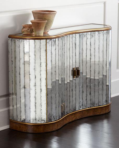 John-Richard Collection Veronika Mirrored Cabinet