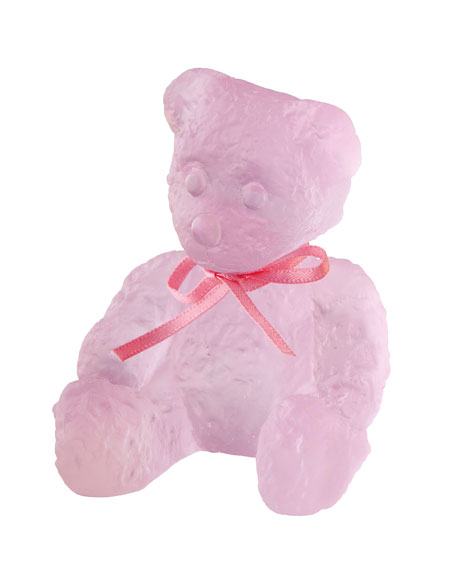 Daum Mini Pink Doudours Teddy Bear