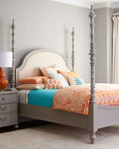 Argos queen bed neiman marcus for Stores like horchow