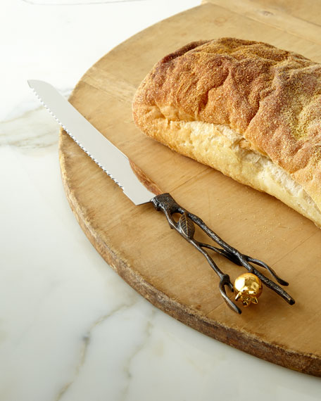 Pomegranate Bread Knife