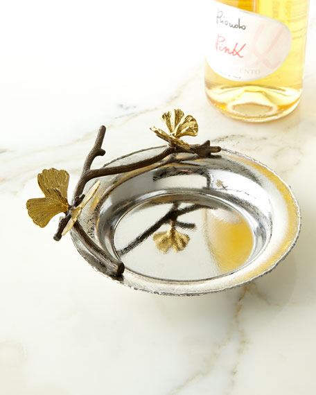 Butterfly Gingko Wine Coaster