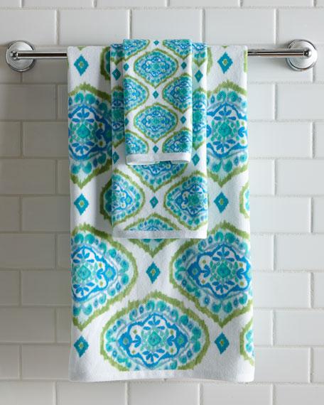 Dena Home Tangiers Ikat Print Bath Towel