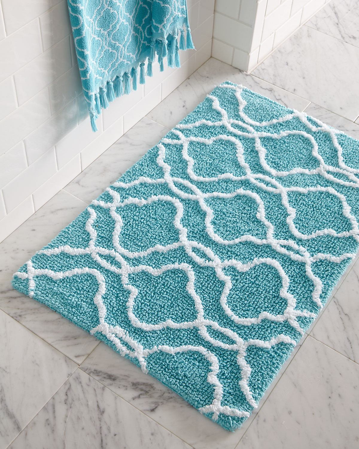 Exceptionnel Tangiers Bath Rug