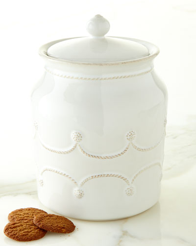 Berry & Thread Cookie Jar