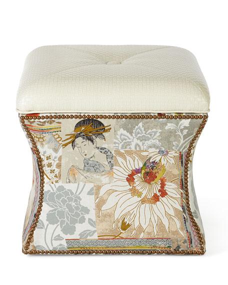 Blossom Ottoman