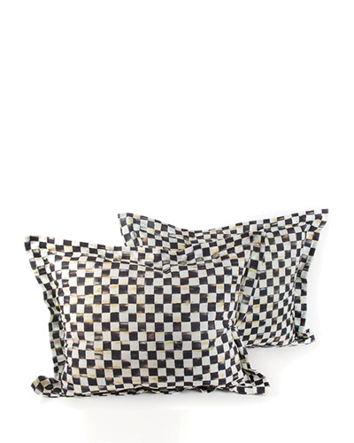 Courtly Check King Shams, Set of 2