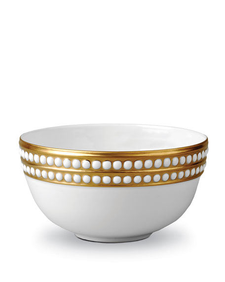 Perlee Gold Cereal Bowl