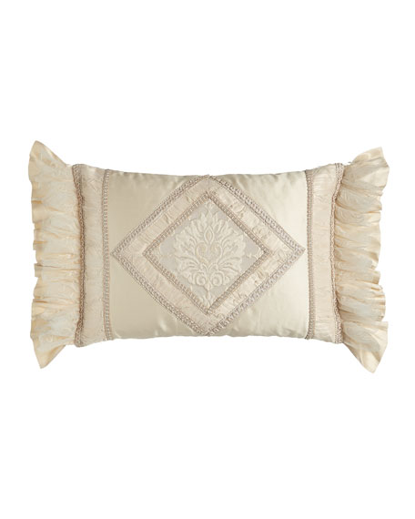Dian Austin Couture Home Pieced Cameo Pillow with