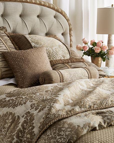 Austin Horn Classics Queen Vienna Damask Comforter