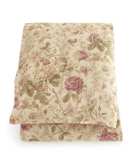 Full/Queen Wilton Rose Duvet Cover