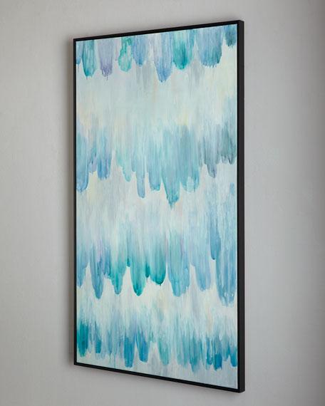 """Rain"" Acrylic Painting"