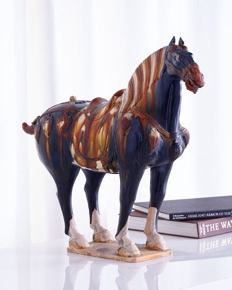 Antique Ceramic Horse