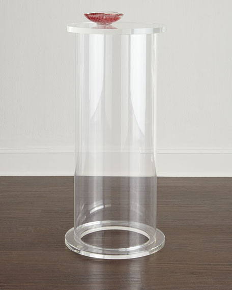 Ira Tall Acrylic Pedestal
