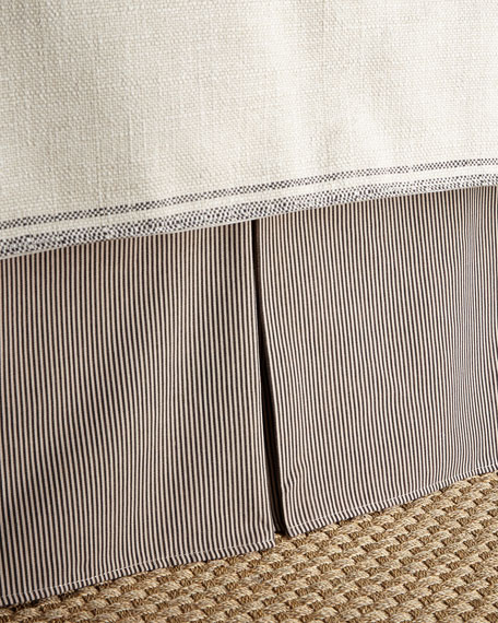 French Laundry Home Queen Kent Wood Stripe Dust