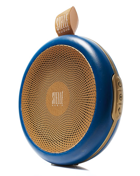 Navy Blue/Gold Go-Go Wireless Speaker