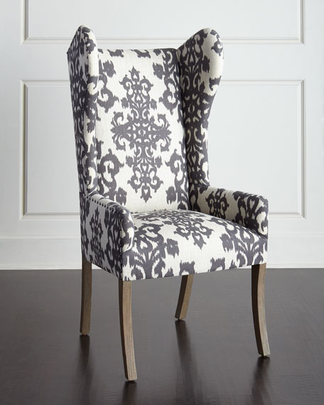 Williamson Wingback Chair Neiman Marcus