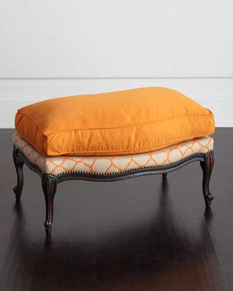 Clementine Bergere Ottoman