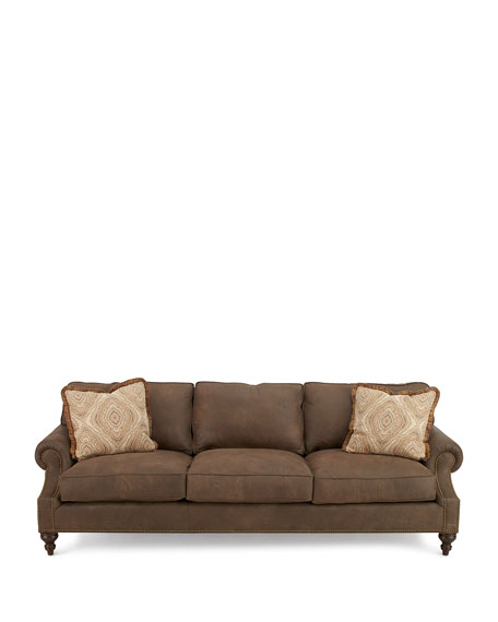 Janis Leather Sofa