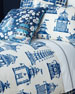 Twin Ming Pagoda Duvet Cover